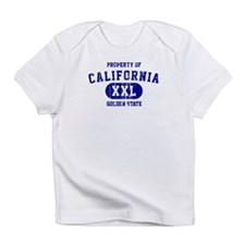 Property of California the Golden State Infant T-S