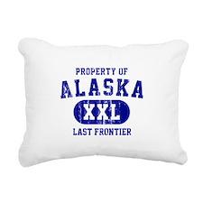 Property of Alaska the Last Frontier Rectangular C