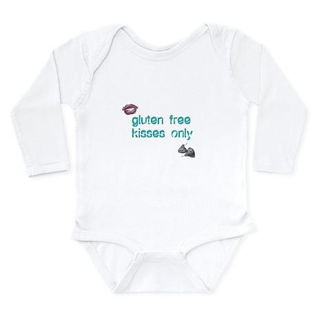 Gluten Free Kisses Only Long Sleeve Infant Bodysui