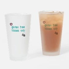 Gluten Free Kisses Only Drinking Glass