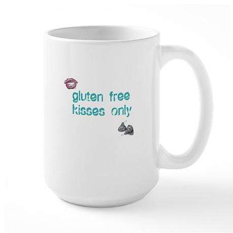Gluten Free Kisses Only Large Mug