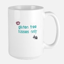 Gluten Free Kisses Only Large Mug