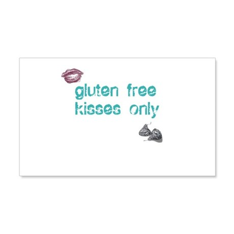 Gluten Free Kisses Only 20x12 Wall Decal