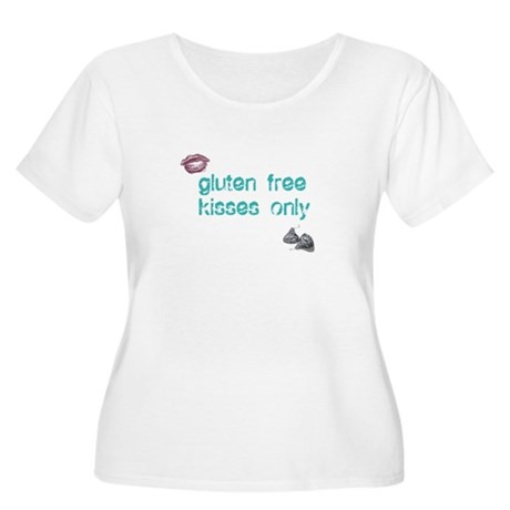 Gluten Free Kisses Only Women's Plus Size Scoop Ne