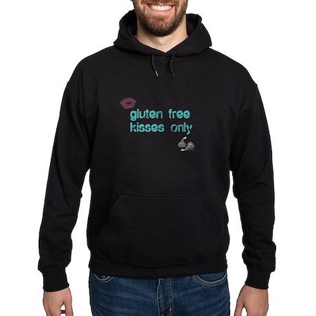 Gluten Free Kisses Only Hoodie (dark)