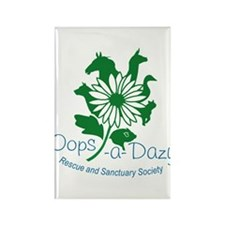 Oops-a-Dazy Logo Rectangle Magnet