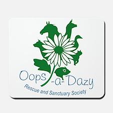 Oops-a-Dazy Logo Mousepad