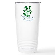 Oops-a-Dazy Logo Travel Mug