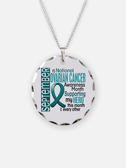 Ovarian Cancer Awareness Month Necklace