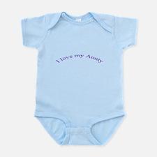 I Love my Aunty Infant Bodysuit
