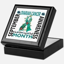 Ovarian Cancer Awareness Month Keepsake Box