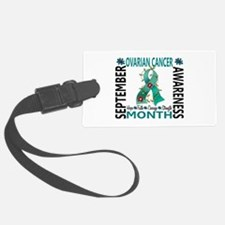 Ovarian Cancer Awareness Month Luggage Tag