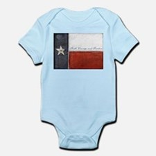 TEXAS Flag Infant Bodysuit