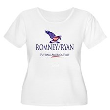Romney/Ryan - Putting America First T-Shirt