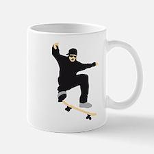 skateboard jump skater Mug