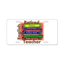 Retired English Teacher Book Stack.PNG Aluminum Li
