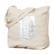 Old Fashioned Door Tote Bag