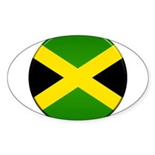 Jamaican Button Decal