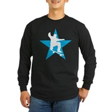 skateboard jump skater star T