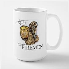 A Few Become Firemen Large Mug