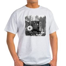 Roaring Camp Narrow Gauge Ash Grey T-Shirt