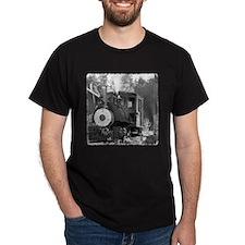 Roaring Camp Narrow Gauge Black T-Shirt