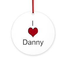 I 3 Danny Ornament (Round)