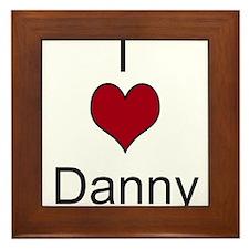 I 3 Danny Framed Tile