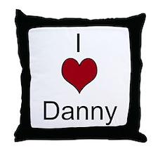 I 3 Danny Throw Pillow