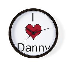 I 3 Danny Wall Clock