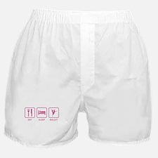 Eat Sleep Ballet Boxer Shorts