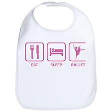 Eat Sleep Ballet Bib
