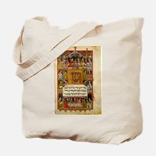 14th Century Haggadah Tote Bag