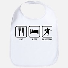 Eat Sleep Basketball Bib