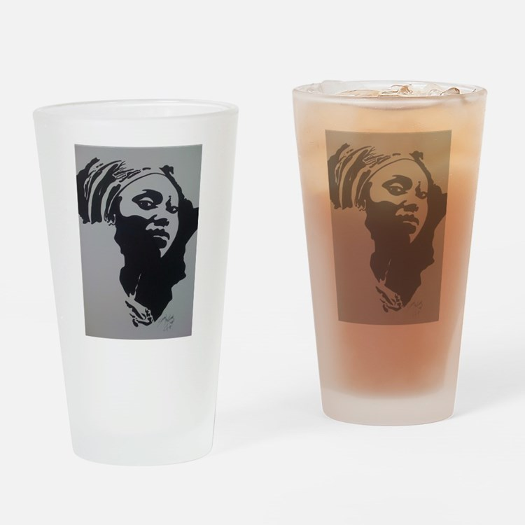 MOTHER AFRICA Drinking Glass