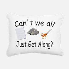 get along.jpg Rectangular Canvas Pillow
