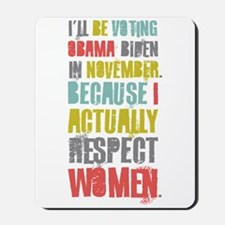Respect Women Mousepad