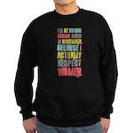 Respect Women Sweatshirt (dark)