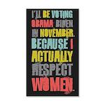 Respect Women 20x12 Wall Decal