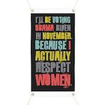 Respect Women Banner