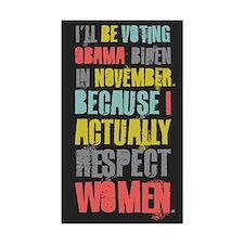 Respect Women Decal