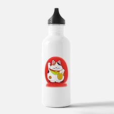 Good Luck Maneki Neko Water Bottle