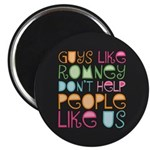 """Guys Like Romney 2.25"""" Magnet (100 pack)"""