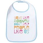 Guys Like Romney Bib
