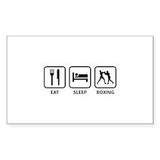 Eat Sleep Boxing Decal