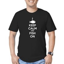 Keep calm and fish on T