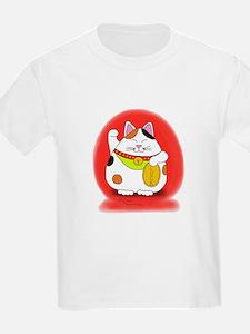 Good Luck Maneki Neko T-Shirt