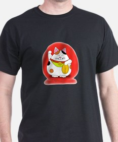 Good Luck Maneki Neko T-Shirt