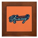 Outsource Romney Framed Tile