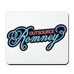 Outsource Romney Mousepad